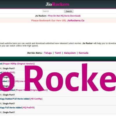 Jio Rockers 2020 – Illegal HD Movies Download Jiorockers Website