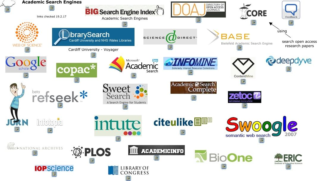 16 academic search engines that will make you forget about Google